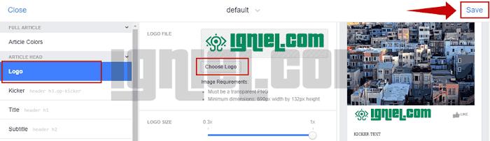 Cara Setting Facebook Instant Articles Untuk Blogspot