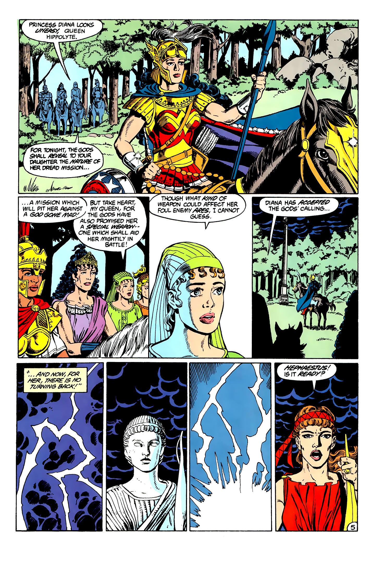 Read online Wonder Woman (1987) comic -  Issue #2 - 6