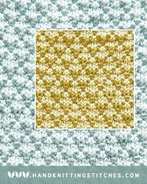 Easy To Knit - Seersucker Knit Purl Patern