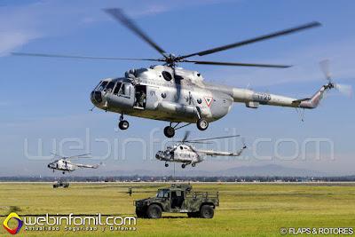 El Helicoptero Mil Mi-17 en México - Página 29 MI-17%2BFuerza%2BAerea%2BMexicana