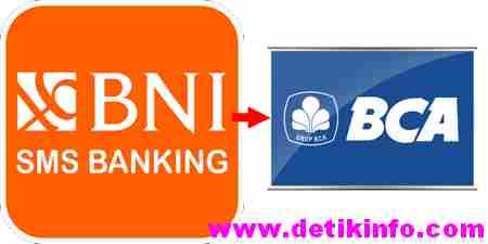 Cara Transfer Uang BNI ke BCA via SMS Banking