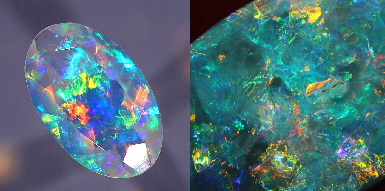 Crystal Opal, A Curious Galaxy of Colors