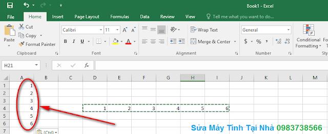 Cách chuyển dòng thành cột trong Excel