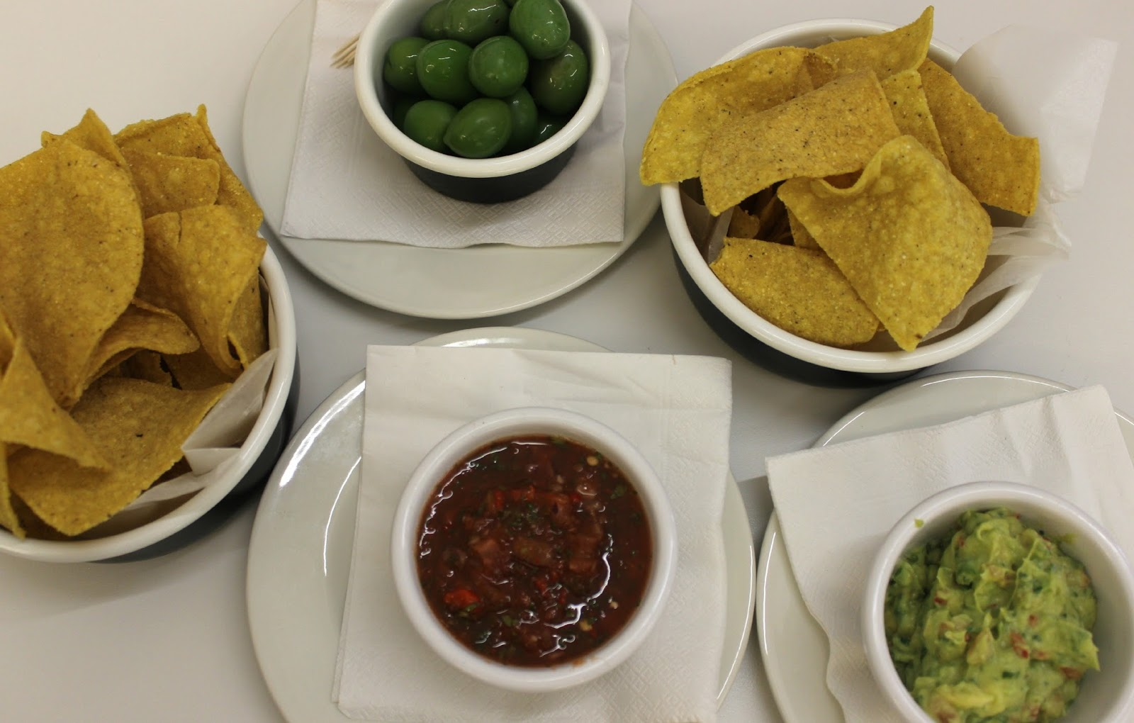 A picture of Byron Burger Proper Olives, Tortilla Chips, Guacamole and Salsa at Highcross Leicester