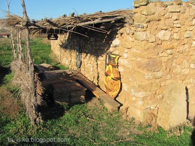 Кара-Тобе скифское жилище
