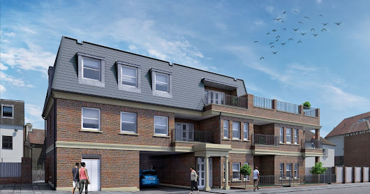 Six unit flat development, recently submitted for full planning approval