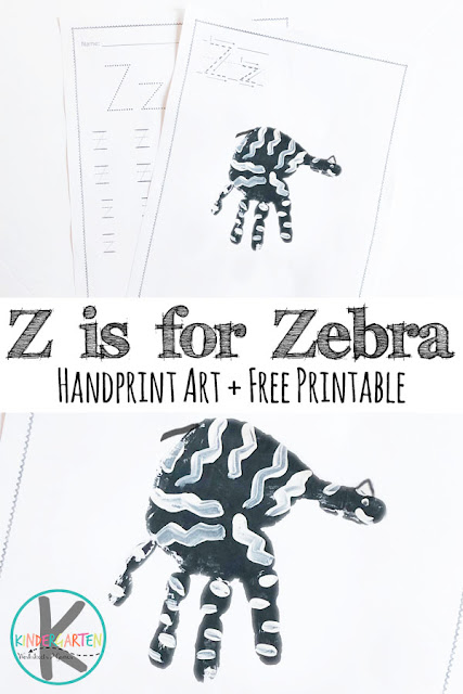 Z is for Zebra Handart project