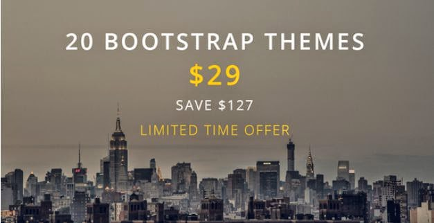 Theme Bundle - 20 Bootstrap Themes