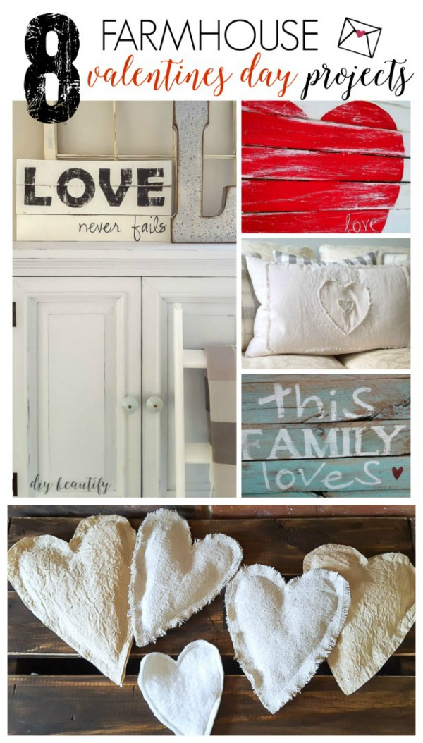 farmhouse Valentines projects