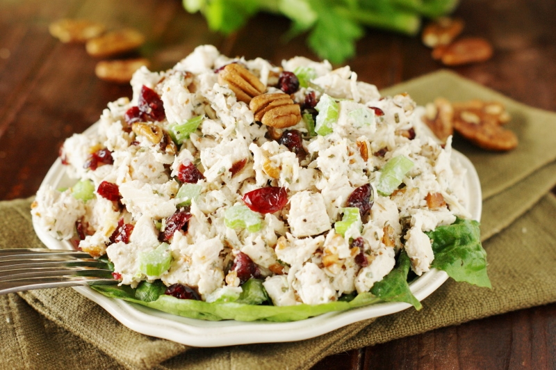 Tarragon Chicken Salad - The Kitchen is My Playground