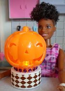 diy barbie blog: tealight jack-o-lantern