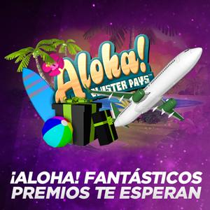 vivelasuerte sorteo diario Aloha! Cluster Pays 3-9 julio