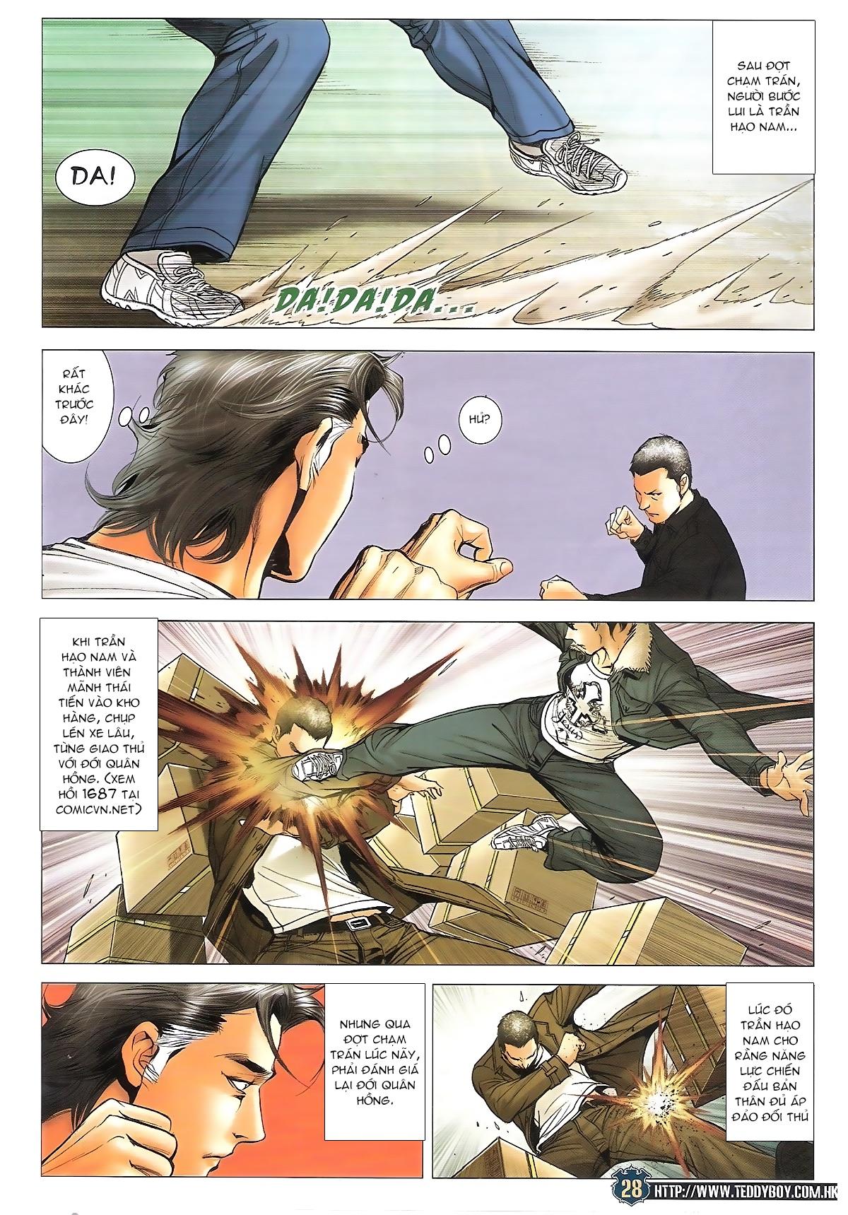 Người Trong Giang Hồ - Ngũ Hổ qui thiên - Chapter 1706: Kịch chiến - Pic 26