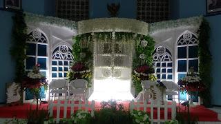 Jasa Dekorasi Pelaminan Minimalis Di Bandung