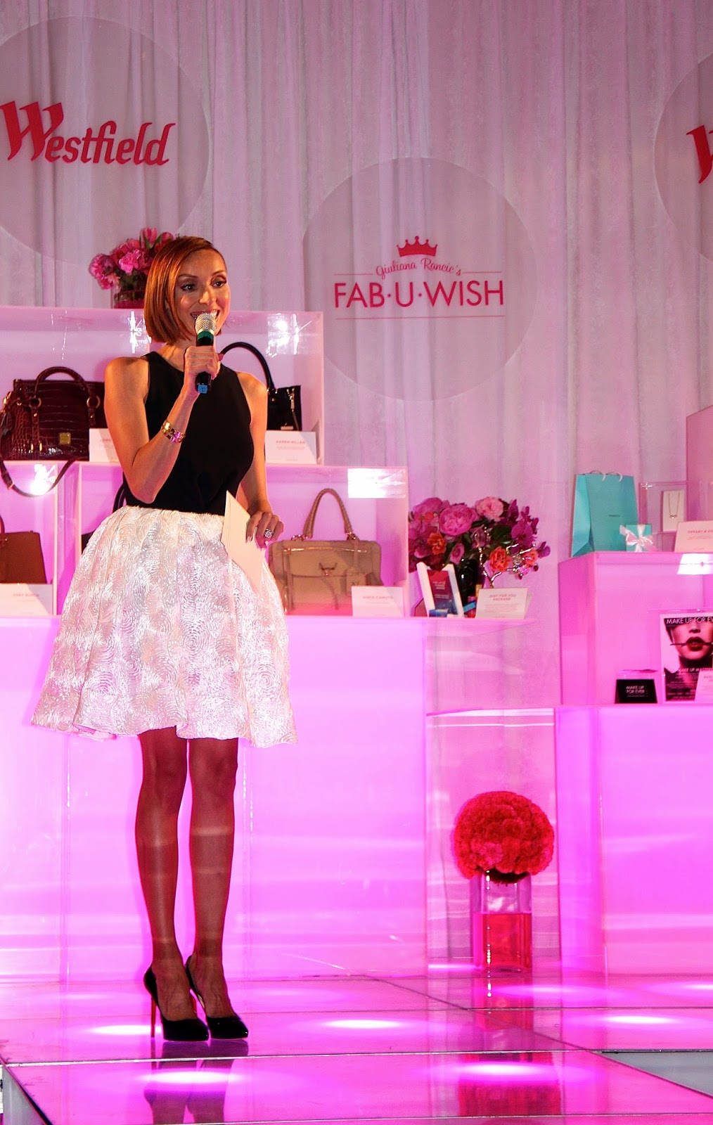 Fashionably Petite The Pink Party Fab U Wishes Do Come True With Giuliana Rancic