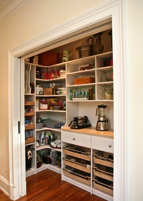 Custom Pantry Kitchen Storage Design