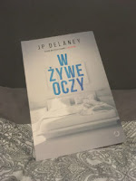 "JP Delaney ""W żywe oczy"", fot. by paratexterka ©"