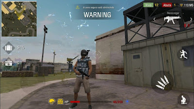 Free Fire Battlegrounds Mod Apk+Data v1.13.0  Terbaru Update Android