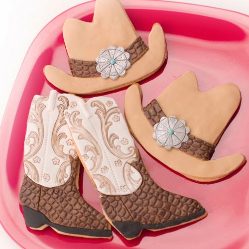 Kiwi Cakes Cowboy Boot Amp Hat Cookies