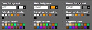 كيفية تغيير لون الخلفية في مدونة بلوجر