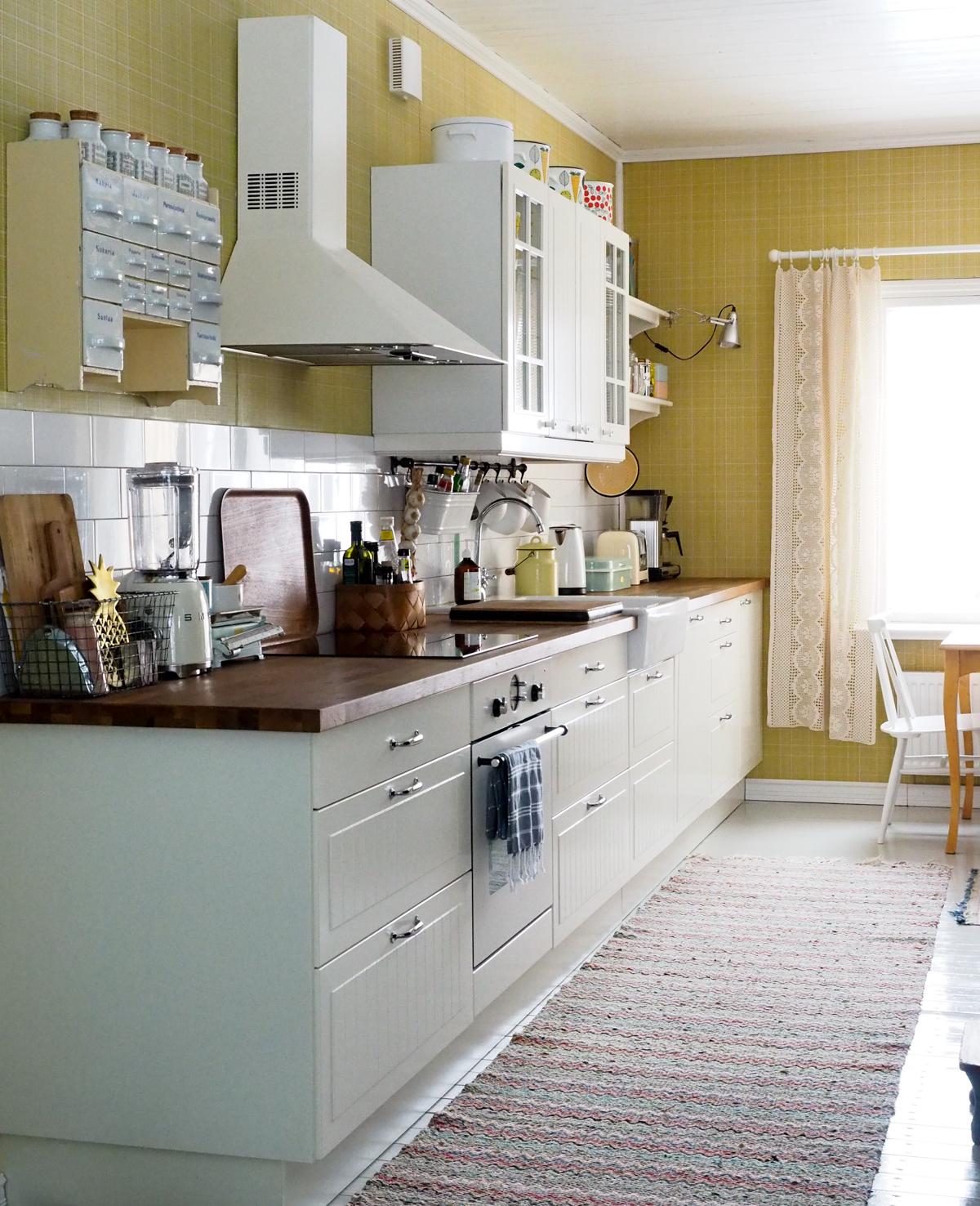 ikea keittiö, 50-luvun keittiö
