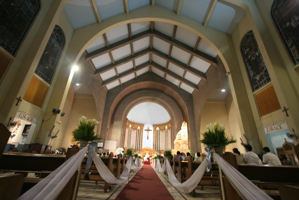 The Pink Line The Wedding Church