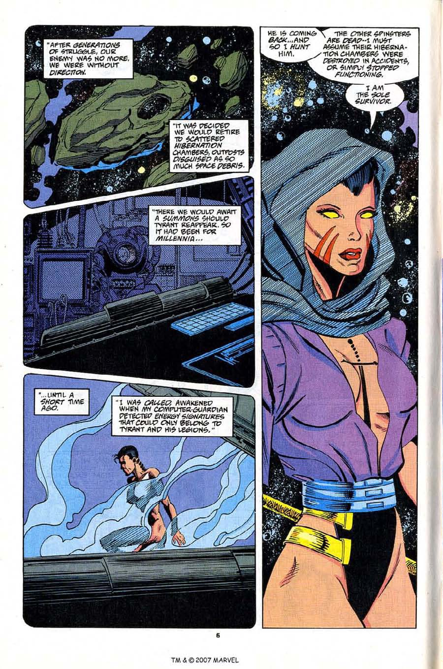 Read online Silver Surfer (1987) comic -  Issue #81 - 8