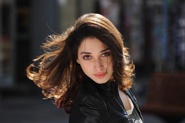 Cute Tamanna Bhatia Hot HD photo in black