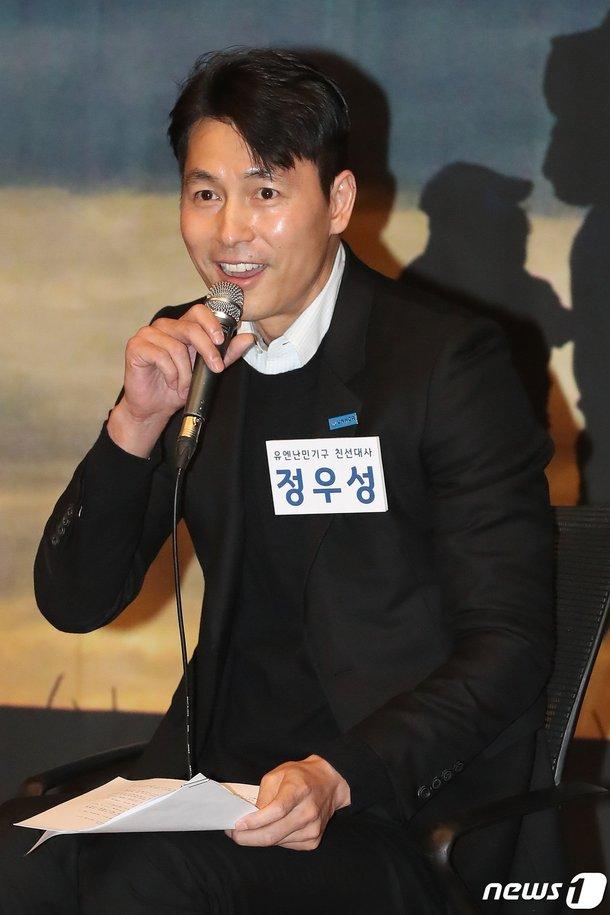 Jung Woo Sung, mültecilerin haklarını savunmaya devam ediyor