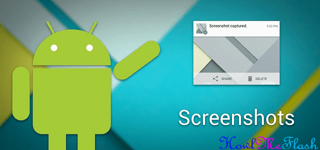 Take a Screenshot on Android