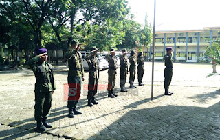 Satmenwa Universitas Bojonegoro Gelar Pradiklatsar Angkatan LXXI