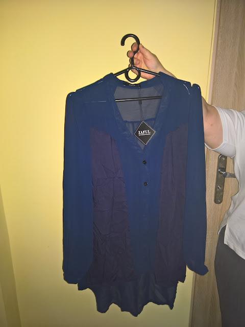 koszula granatowa