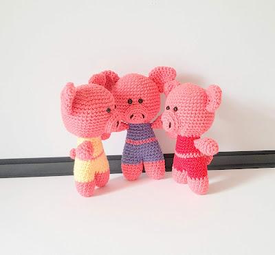 crochet pig
