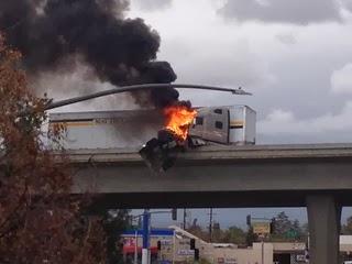 Bakersfield+Semi+Truck+Crash+Highway+58+99+Overpass+2+February+2014