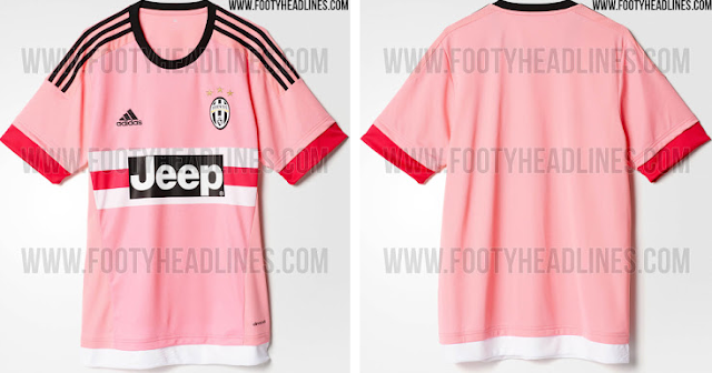 Pictures of Juventus 2015/16 kit