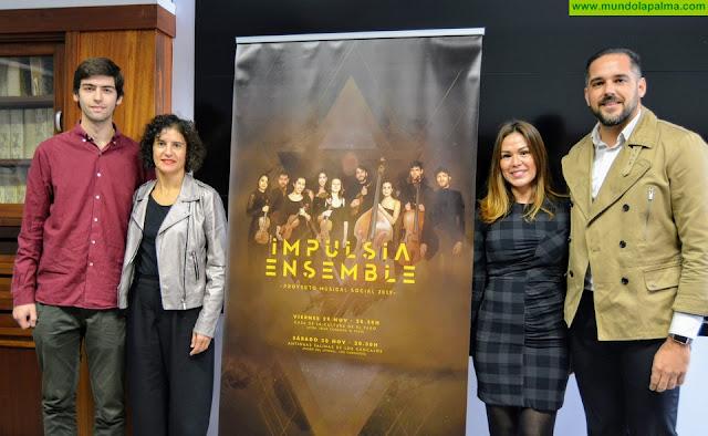 El Cabildo lleva un programa de divulgación de la música clásica al Hospital y a la cárcel de La Palma entre otros espacios