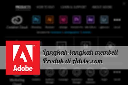 Cara Resmi Membeli Produk Dari Adobe (Creative Cloud)