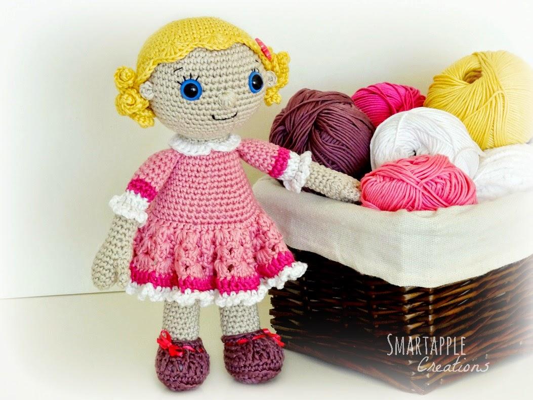 Lucy Doll Crochet Pattern, Crochet Doll, Crochet Girl, Girl Crochet ... | 790x1053
