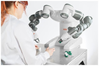 "ABB's YuMi collaborative robot named ""2016 Best Industrial Robot"""