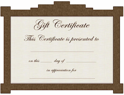 Beauty Gift Certificate Template Free Vfgaz
