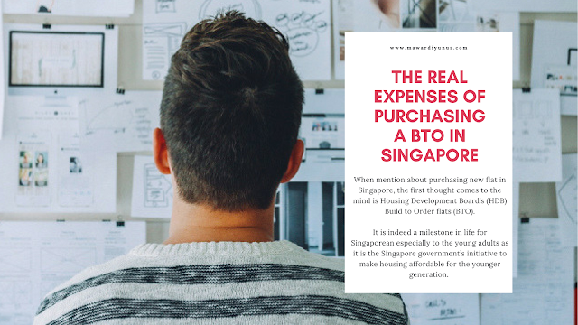 THE REAL EXPENSES OF PURCHASING A BTO IN SINGAPORE