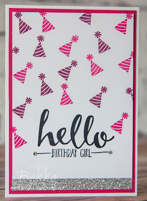 Hello Birthday Girls and Boys - get these stamps here - free with a qualifying order until 15 February 2016