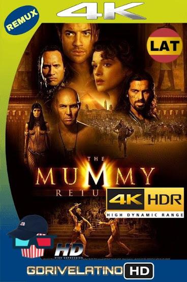 La Momia Regresa (2001) BDRemux 4K HDR LAT-CAS-ING MKV