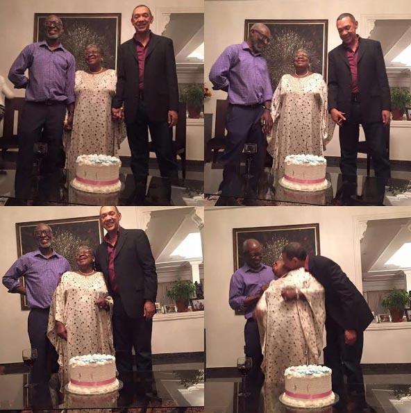 Ngozi Okonjo-Iweala's reaction as Ben Murray-Bruce tried to kiss her...