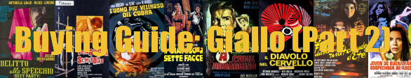 Buying Guide: Giallo (Part 2)