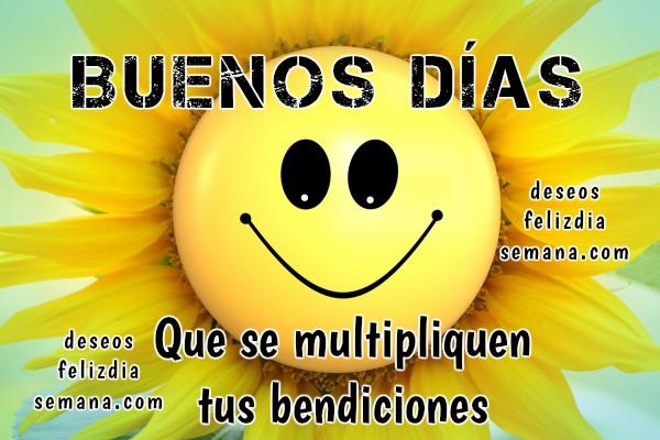 Frases con imágenes de buenos días, saludos bonitos para desear un buen día a amigos y familia por Mery Bracho