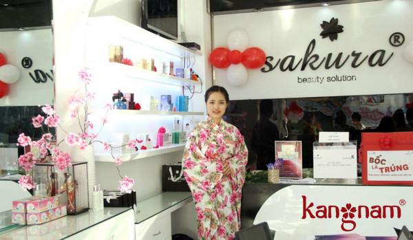 Giá niêm yết của kem chống lão hóa Sakura
