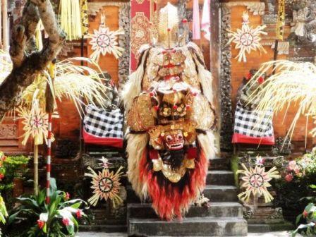 Traditional Performances Barong and Keris Dance