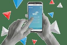 تنزيل تطبيق الدخول الدخول علي شبكات الواي فاي للهاتف في اي مكان بالعام