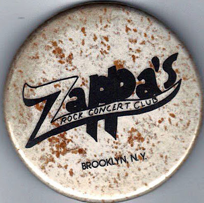 Zappa's rock club button